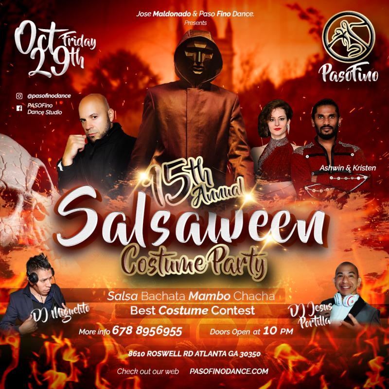 pasofino halloween salsa party
